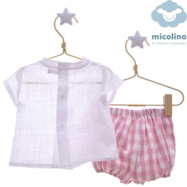 Conjunto Bebé Niño familia Caramelo de Micolino