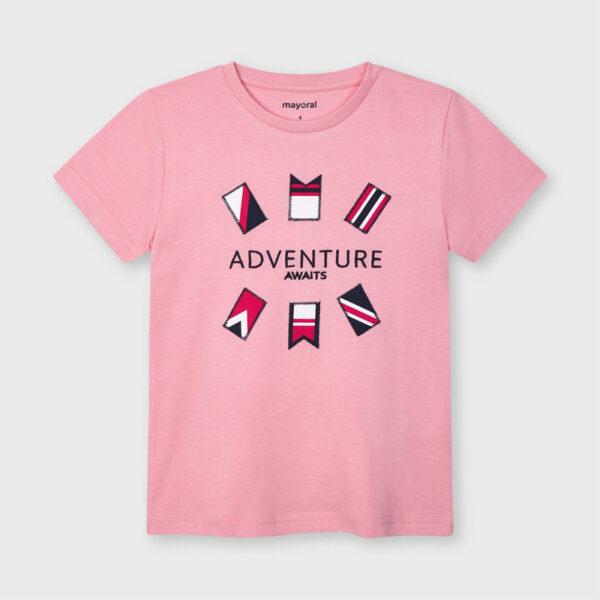 Camiseta manga corta algodón niño Mayoral