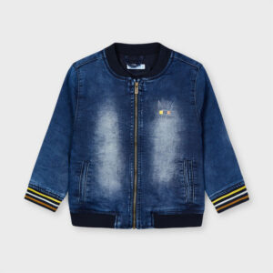 Cazadora bomber soft denim niño Mayoral