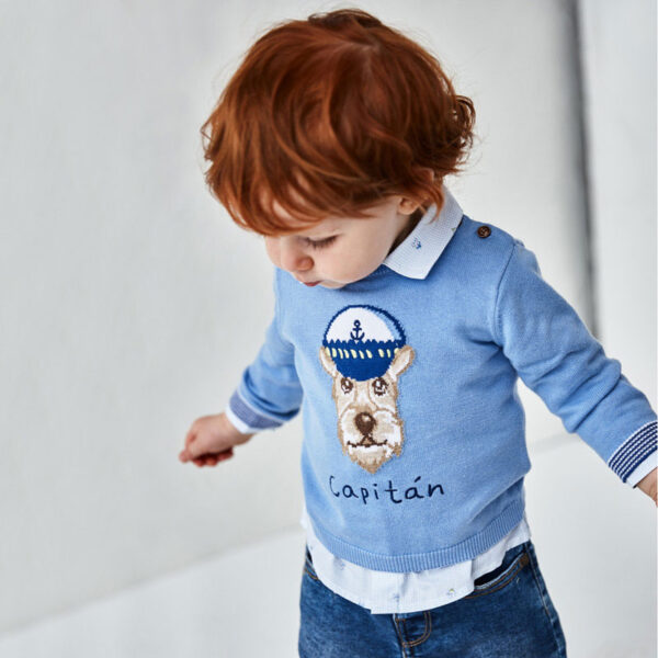 Jersey aplique animalito bebé niño Mayoral