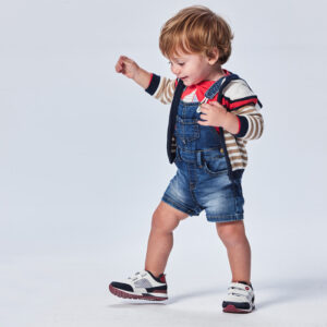 Peto soft denim Ecofriends bebé niño Mayoral