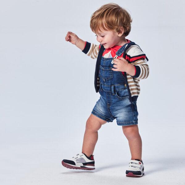 Peto soft denim Ecofriends bebé niño Mayoral