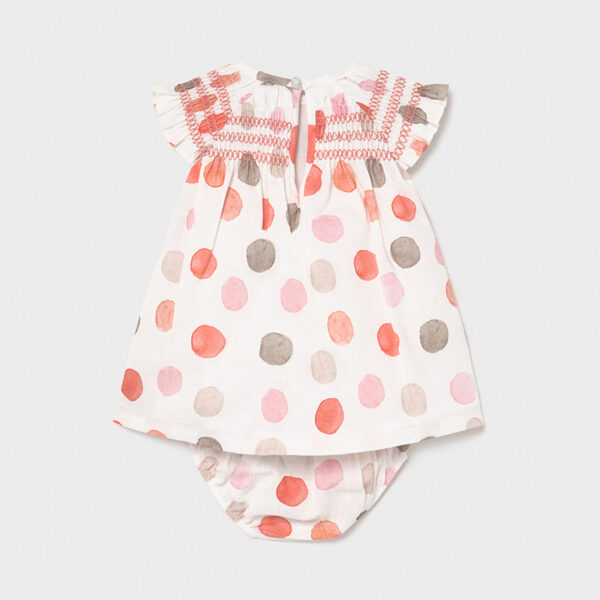 Vestido lino lunares recién nacida niña Newborn Mayoral
