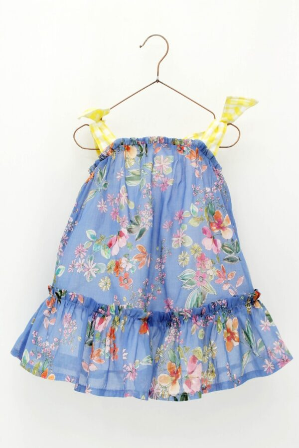 Vestido niña tirantes estampado floral Foque