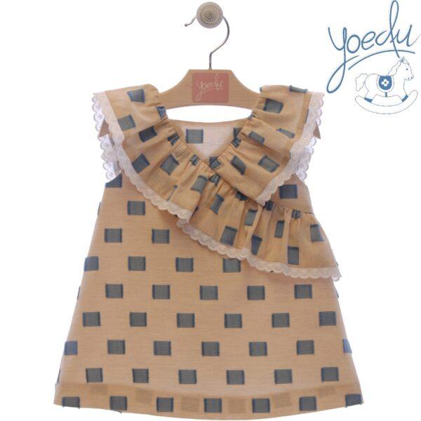 Vestido infantil familia Azucena Yoedu