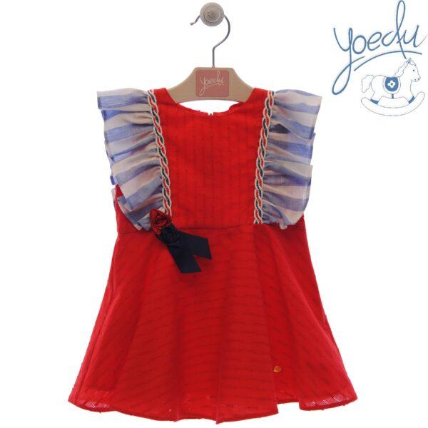 Vestido infantil Familia Camelia Yoedu