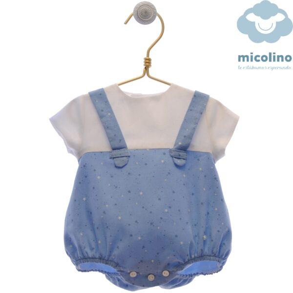 Pelele bebé niño Familia Ingrid Micolino