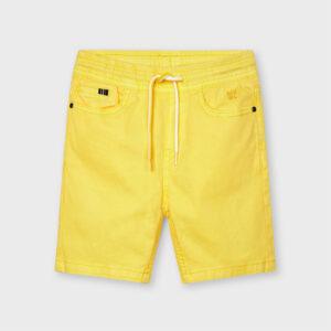 Bermuda ligera niño amarilla Mayoral