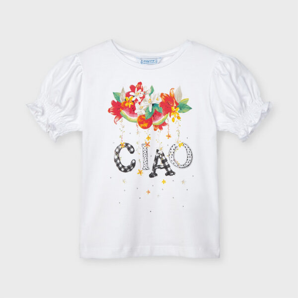 Camiseta Ecofriends ciao niña Mayoral