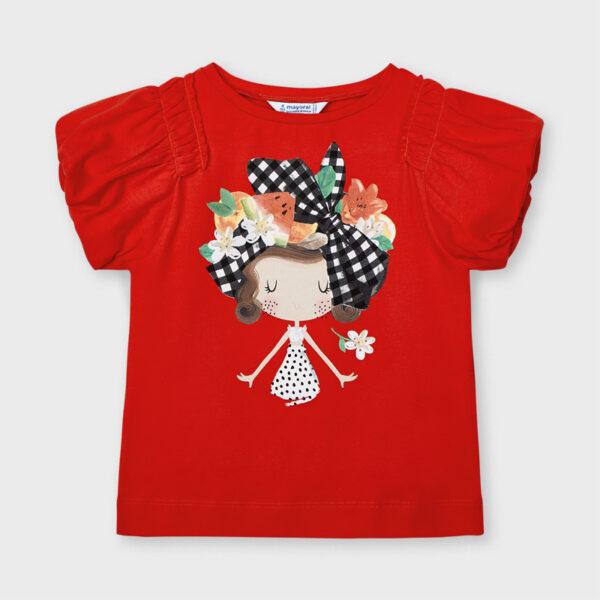 Camiseta Ecofriends muñeca niña Mayoral