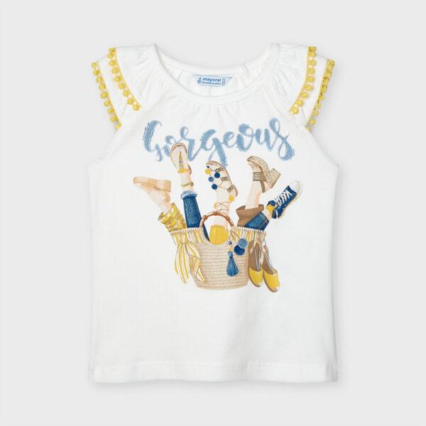 Camiseta tirantes cesto niña Mayoral