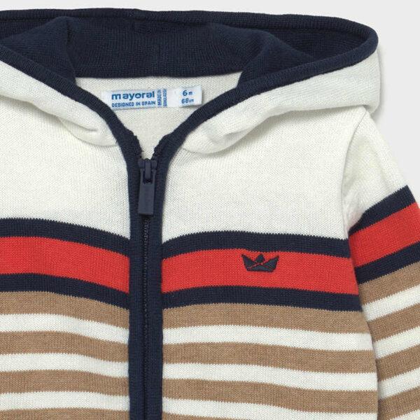 Chaqueta tricot bloques bebé niño Mayoral