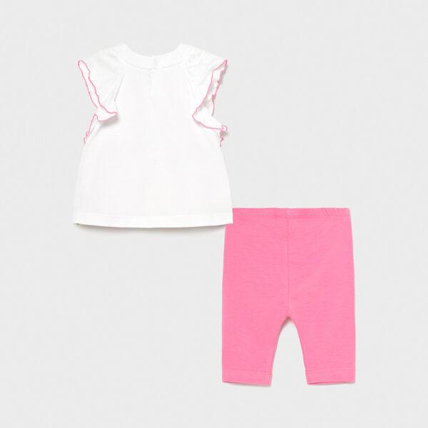 Conjunto leggings cenefa bebé niña Mayoral