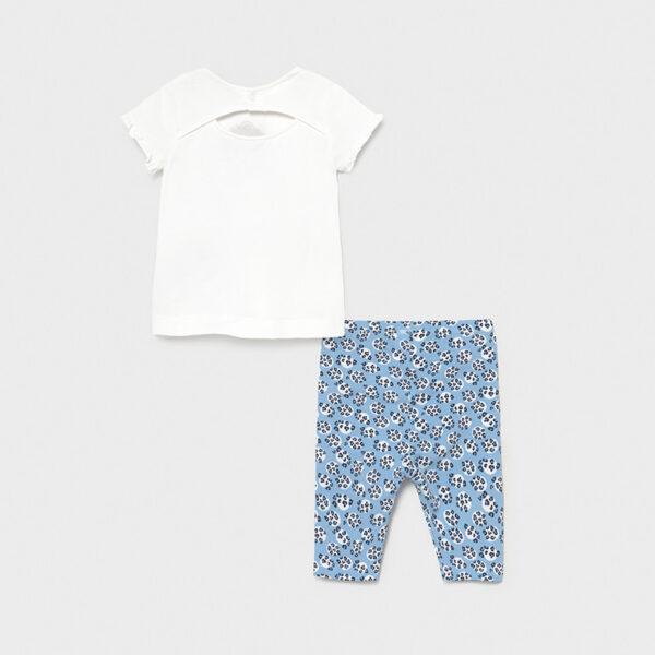 Conjunto leggings estampado bebé niña Mayoral