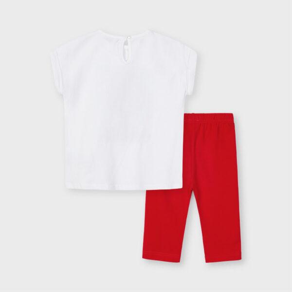 Conjunto leggings muñeca lazo niña Mayoral
