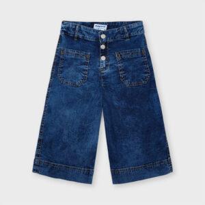 Pantalón culotte bolsillos niña Mayoral