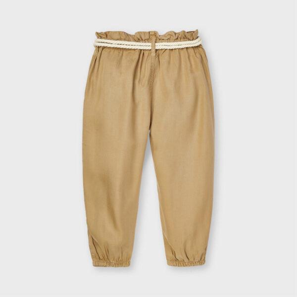 Pantalón largo fluido cinturón Ecofriends niña Mayoral