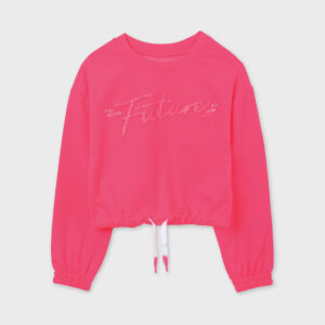 Pullover future chica rosa flúor Mayoral
