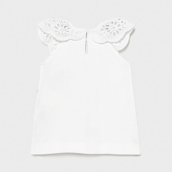 Vestido punto serigrafía bebé niña Mayoral