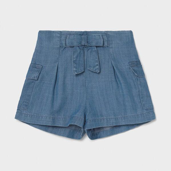 Pantalón corto fluido bebé niña Mayoral