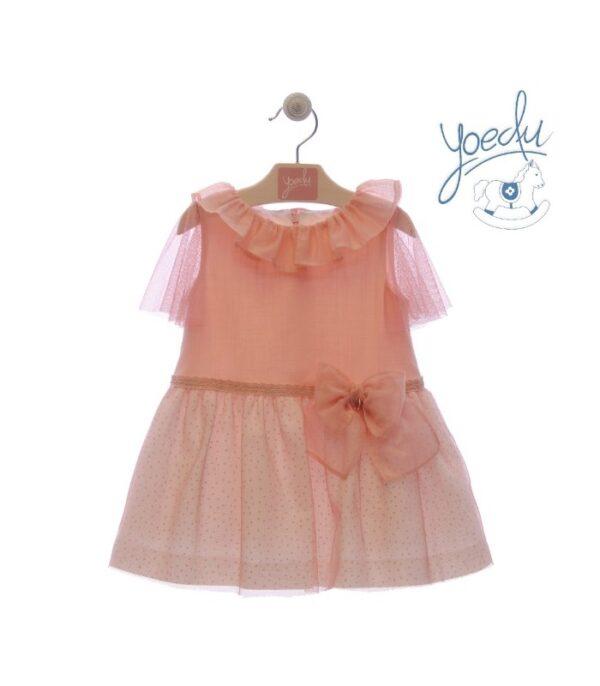Vestido infantil familia Campanilla Yoedu