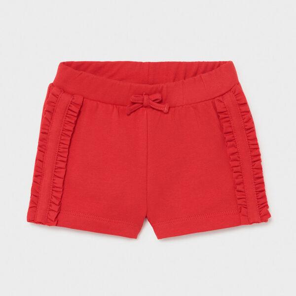 Pantalón corto bebé niña Mayoral